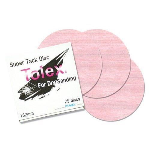 Eagle 193-1503 - 6 inch SUPER-TACK Tolex Discs - 25 discs/box 41j6zKqITcL
