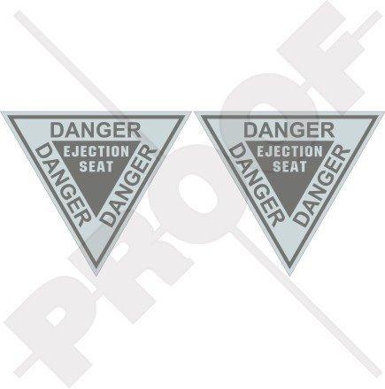 danger-ejection-seat-lowvis-usaf-usmc-martin-baker-36-90mm-vinyl-stickers-decals-x2
