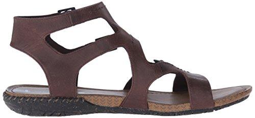 Merrell Sandalo Da Donna Con Fibbia Gladiatore Marrone