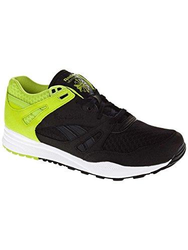 Reebok - Zapatillas para hombre negro - black charged green/white