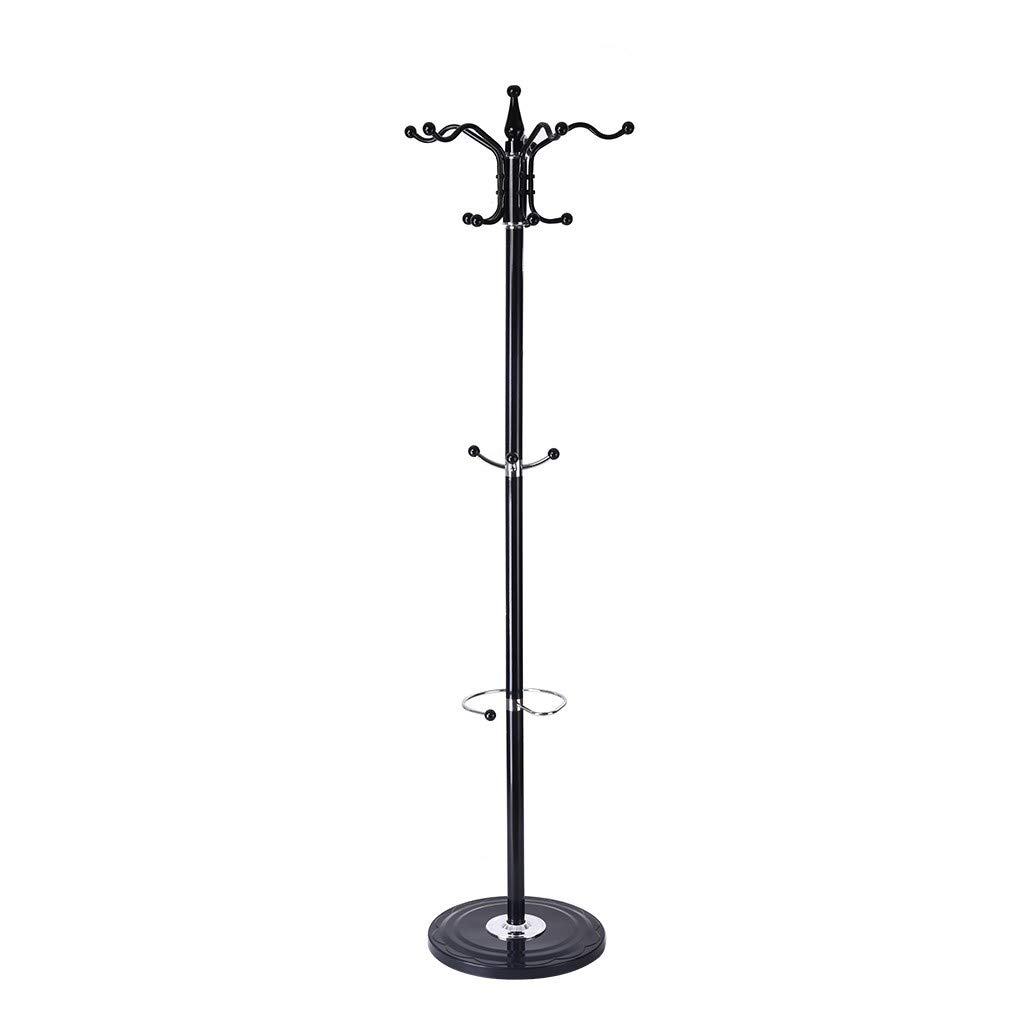 Agelloc 15 Hooks Metal Coat Racks Hat Jacket Stand Tree Hanger Rack Silica Gel Base for Coat, Hat, Clothes, Scarves, Handbags, Umbrella by Agelloc