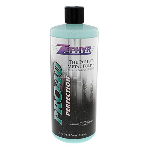Zephyr PRO40032 32 oz. Pro-40 Metal Polish