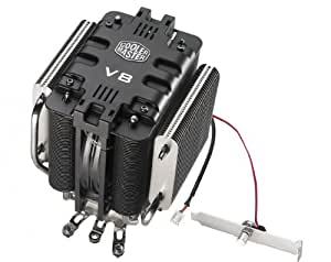 Cooler Master V8 - CPU Cooler with 8 Heat Pipes and Mirror-Finished Base (RR-UV8-XBU1-GP)