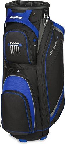 Bag Boy Golf- Revolver FX Cart Bag Black/Royal/Silver (Certified Refurbished)