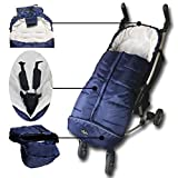 3in1 Use Baby Sleeping Bag Adaptable for All Kinds Strolllers Buggy Pushchair,Cozy Toes, Comfortable,Length Adjustable,Practical Design Makes Us Outstanding,Toddler Use