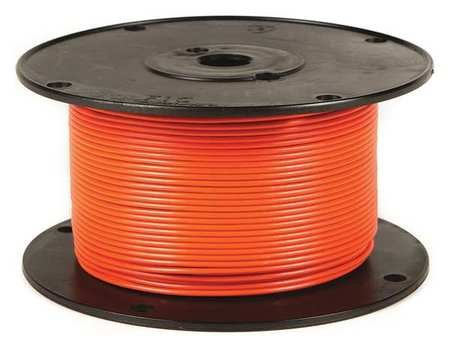 Primary Wire 14 ga. Str 60V GPT/PVC Orange ()