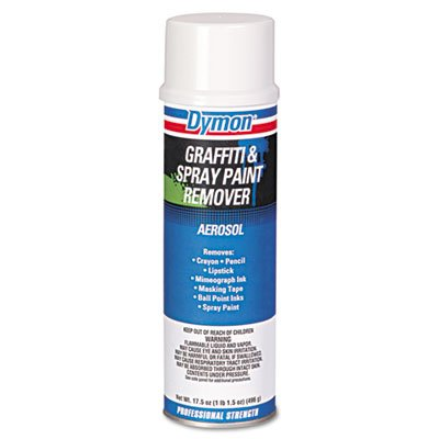 Flat Marbles Net - Dymon 07820 Graffiti/Paint Remover, Jelled Formula, 17.5oz Aerosol (Case of 12)