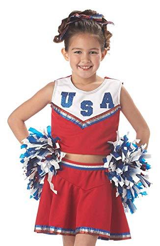 California Costumes Patriotic Cheerleader Costume, X-Small -