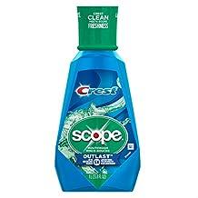 Crest Scope Outlast Mouthwash, 1L