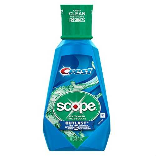 Crest Scope Outlast Mouthwash Long Lasting Peppermint (Peppermint Mouthwash)