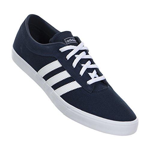 adidas , Herren Sneaker Blau Blau / Weiß