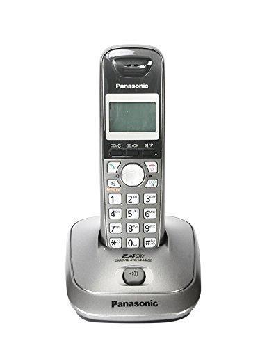 Panasonic KXTG 3551 Cordless Landline Phone (Metallic Grey)