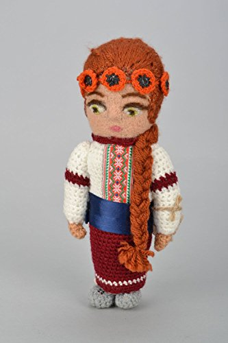 Felted Handmade Doll Ukrainian Girl for sale  Delivered anywhere in Canada