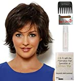Bundle - 5 items: Trend Setter by Raquel Welch Wig, Christy's Wigs Q & A Booklet, Wig Shampoo, Wig Cap & Wide Tooth Comb (Color Selected: R14_25)