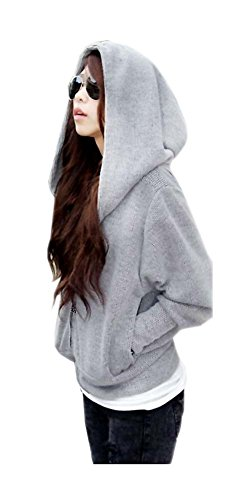 ARJOSA Oversized Batwing Pockets Sweatshirt