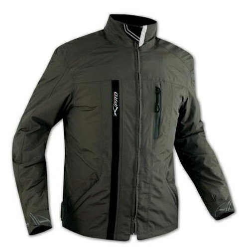 Textile Waterproof CE Armour Thermal Jacket Motorcycle Scooter Green M