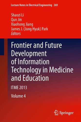 Frontier and Future Development of Information Technology in Medicine and Education: ITME 2013: 269 (Lecture Notes in Electrical Engineering) Pdf