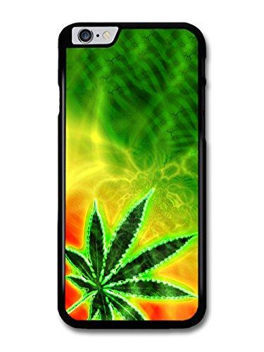 Trippy Weed Marijuana Leaf Cannabis Jamaican Design coque pour iPhone 6 Plus 6S Plus
