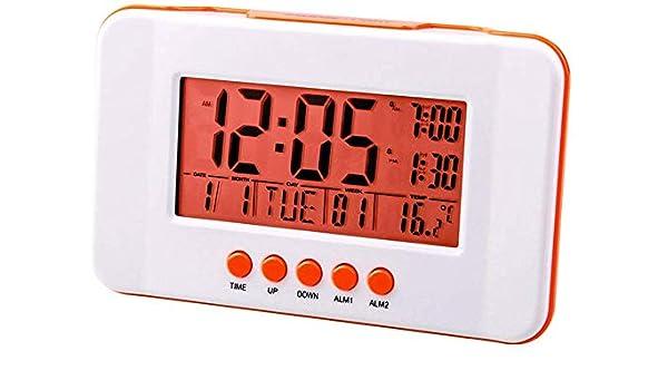 XD Panda Despertador Reloj electrónico de Moda Silent Bedside Led ...