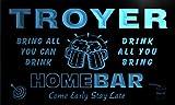 q45724-b TROYER Family Name Home Bar Beer Mug Cheers Neon Light Sign