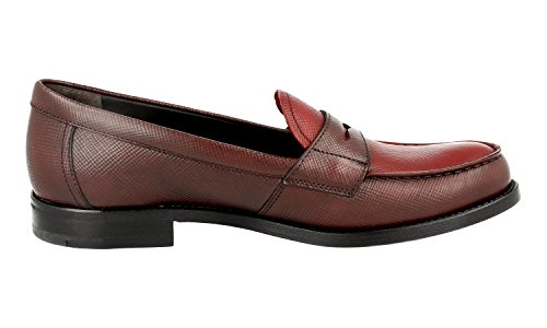 Leather 1D055F Prada Shoes Saffiano Business Women's ptvBqxwH