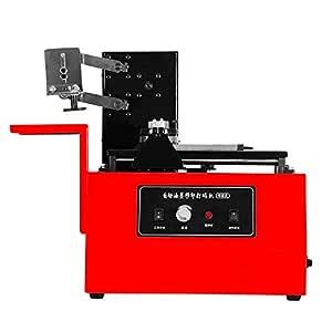 Bisujerro Impresora de Cojín 10-60 Veces/Min Máquina de ...