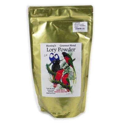 Blessing's Gourmet Lory Powder Dry Lorikeet Food 2lb by Blessings