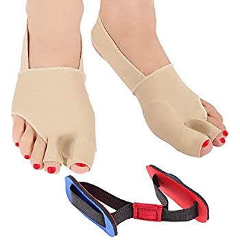 Orthopedic Bunion Corrector | Bunion Relief | Bunion Splint | Big Toe Straightener with Bunion Pads