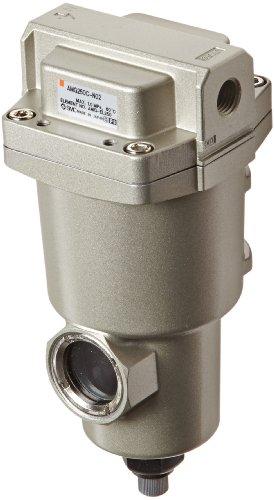 SMC AMG250C-N02 Water Separator, Manual Drain, 750 L/min, 1/4