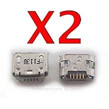 ePartSolution-2 X Asus Memo Pad HD 7 ME173X-A1-PK Charger Charging Port Dock Connector USB Port Repair Part USA Seller