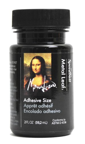 Speedball Mona Lisa 2-Ounce Metal Leaf Adhesive Size