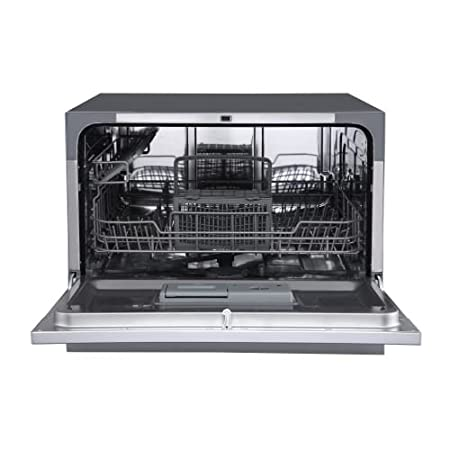 Edgestar Dwp62wh 6 Place Setting Energy Star Rated Portable Countertop Dishwasher White