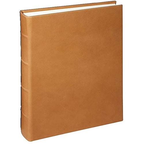 JUNIOR 8x9.50 Traditional Coach-Tan Leather Bound Album by Graphic ImageTM - 8x9.5