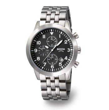 3772-02 Mens Boccia Titanium Chronograph Watch
