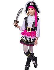 flatwhite Girl's Pirate Skirt Costume