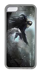 iPhone 4 4s Case, iPhone 4 4s Cases - Lightweight Protective Clear Soft Rubber Case Bumper for iPhone 4 4s Jone Snow With Wolf Game Of Thrones High Quality Snap-on Soft Back Case for iPhone 4 4s