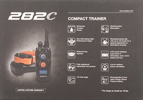 282c 2 dog compact remote