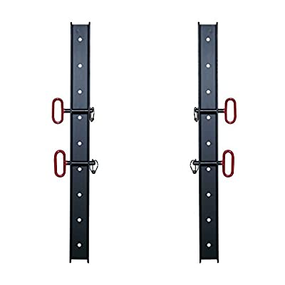 "(2) 2"" x 3"" Wall Storage Strip for Titan T-3 Power Rack Accessories & Attachment"