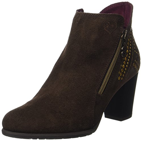 Studs Frida Shoes Donna Stivali Desigual Marrone Chestnut Chelsea BEpxqnwS