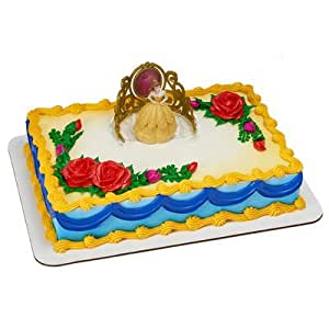 Cake Decorating Kit Of The Month : Amazon.com: Decopac Princess Belle Beautiful as a Rose ...