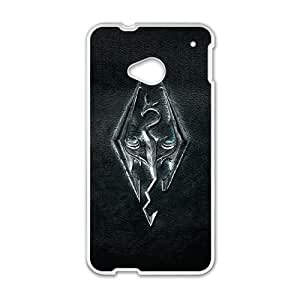 The Elder Scrolls V Skyrim HTC One M7 Cell Phone Case White Tribute gift pxr006-3907311
