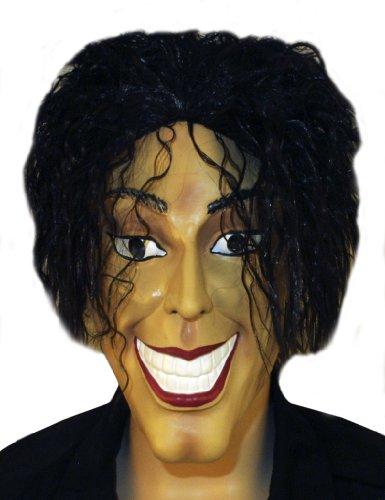 Michael Jackson Mask (Michael Jackson - Pop Star Mask)