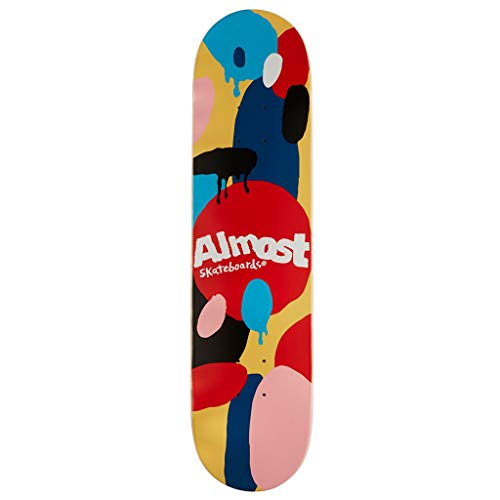 Almost Skateboard Deck Spotted Impact Cream 7.75