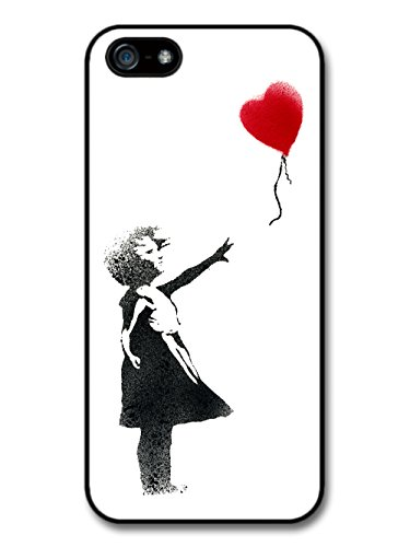 Banksy Balloon Girl Street Art Graffiti iPhone 5 Case