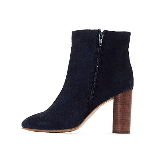 Redoute Boots Gr 3845 La Frau Castaluna fur Fusse Breite Marine Fdpqf7w