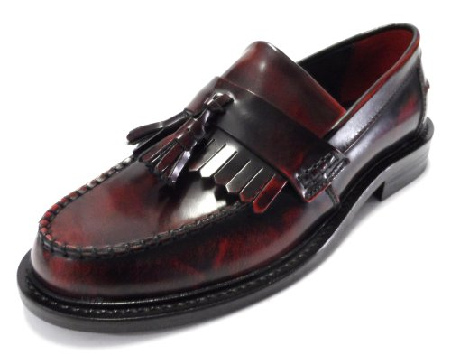 Rudeboy Mod Junction Delicious Loafers OxBlood Tassel Shoe I5BdwrdqOn