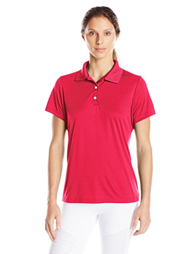 Hanes Sport Women's Cool DRI Performance Polo,Deep Red,XX-Large ()