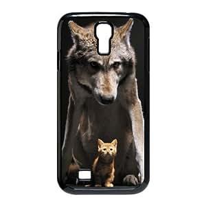 Case for Samsung Galaxy S4, Wolf Kitten Case for Samsung Galaxy S4, Evekiss Black