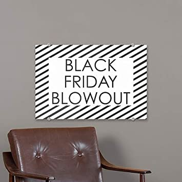 Nostalgia Stripes Heavy-Duty Industrial Self-Adhesive Aluminum Wall Decal 96x48 Black Friday Blowout CGSignLab 2467636/_5gfxa/_96x48/_None