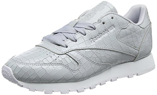 Women's Cloud White Crackle Reebok Shoes Cl Grey Cloud Grey White Grey Gymnastics Lthr 1qdwHxTd